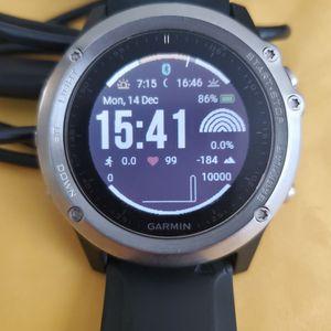 51mm Garmin FENIX 3 HR Smart Watch 20 Day Battery for Sale in Elk Grove, CA