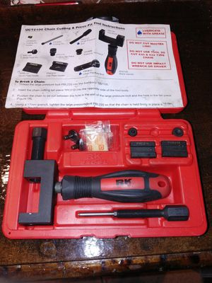 Motorcycle chain tool kit for Sale in Lakewood, CO
