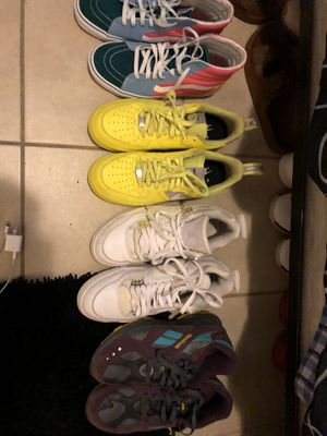 Nike, Vans, Retro Jordans, Reebok for Sale in Lawton, OK