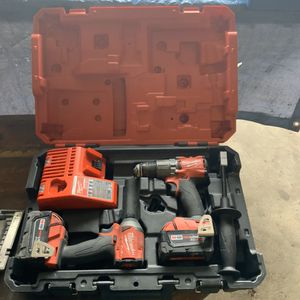 Milwaukee Hammmer Drill & Impact Driver Set 2997-22 for Sale in West Valley City, UT