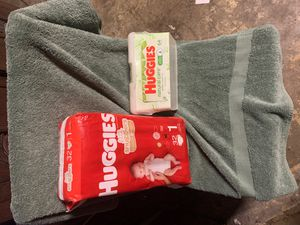 Huggies pampers and wipes for Sale in Compton, CA
