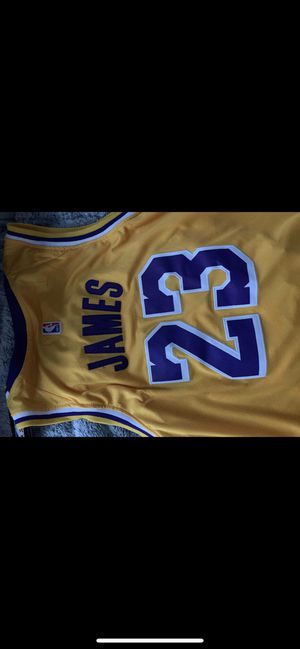 Lebron James Lakers Authentic Jersey for Sale in Schaumburg, IL