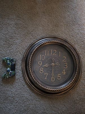 Big ol clock! Plastic but SUPER nice. for Sale in Beaverton, OR