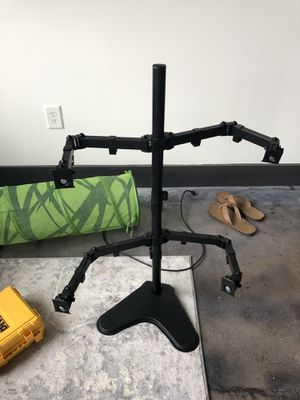 Quad-Monitor Stand holds 4 monitors for Sale in Richmond, VA