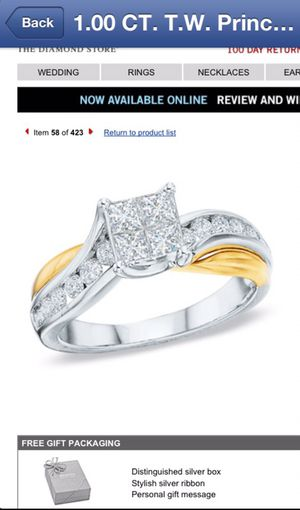 1.0 CT DIAMOND GOLD RING for Sale in Windsor, ON