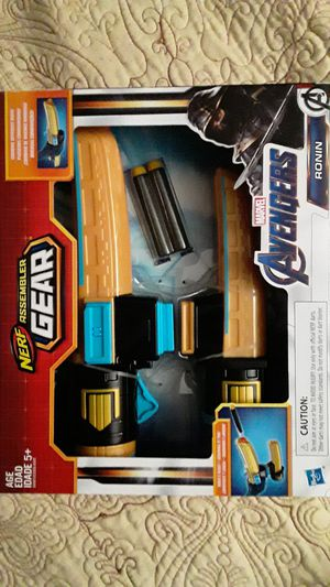 AVENGERS RONIN NERF GEAR NEW TOYS $15 ✔✔✔PRICE IS FIRM✔✔✔ for Sale in South Gate, CA