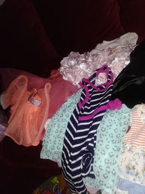 Dresses and shirts and rumpers for Sale in Elkridge, MD