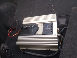 Kenwood eXcelon subwoofer amp for Sale in Concho, AZ