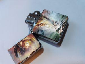 New 3D holographic Handmade fifa soccer oil Lighter for Sale in Lancaster, OH