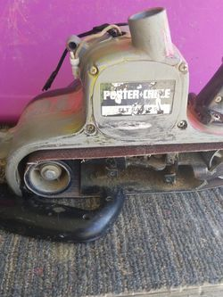 21 by 3 Porter cable Sander for Sale in Victorville,  CA