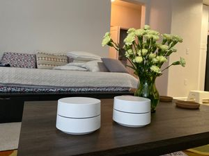 Google Wifi Mesh Router modules (Pack of 2) for Sale in Foster City, CA