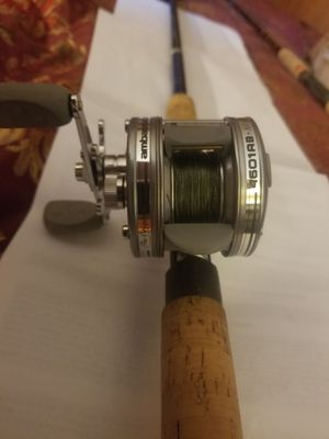 Silstar 7ft rod and Garcia 4601ab fishing reel for Sale in Trumbull, CT