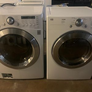 LG Washer And Dryer Set Exellent Condition Available For Pick Up Or Deliver for Sale in Hanover, MD