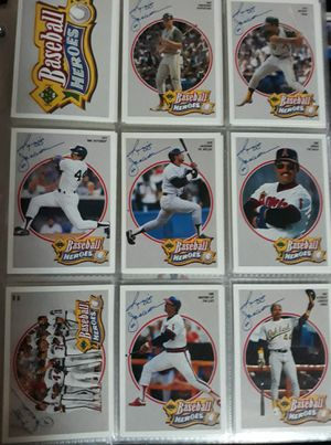 Reggie Jackson baseball heroes cards for Sale in West Valley City, UT