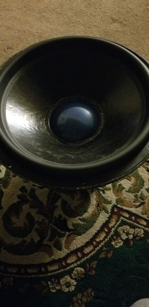 monster 18 inch subwoofer, 4 inch. dual 2ohm voice coil for Sale in Thornton, CO