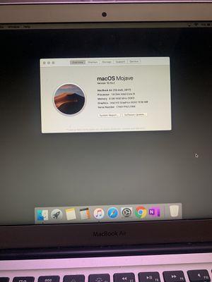 """Macbook Air 2017 13"""" for Sale in Wichita Falls, TX"""