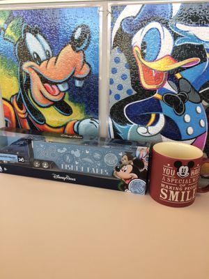 Disney Set: Mug, Truck & Puzzle Posters for Sale in Phoenix, AZ