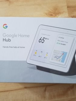 Google Home Hub (Charcoal) for Sale in San Leandro,  CA