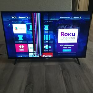 """*FOR PARTS ONLY* 43"""" TCL Roku TV for Sale in Las Vegas, NV"""
