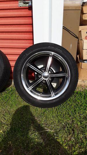 Ion rims/ low profile tires. 17 in. for Sale in Millport, AL