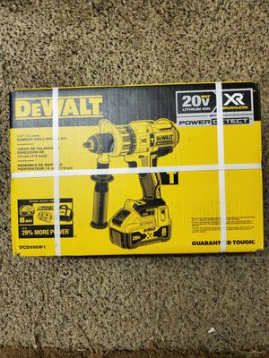 Hammer drill driver kit battery in charger for Sale in Renton, WA