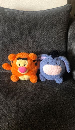 Eeyore and Tiger plush for Sale in San Diego, CA