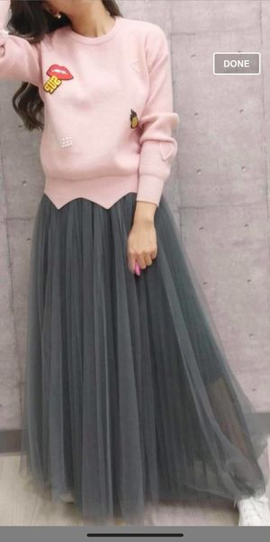 Tulle Maxi Skirt for Sale in Los Angeles, CA