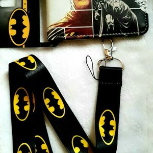 Batman Wallet And Lanyard for Sale in Commerce, CA