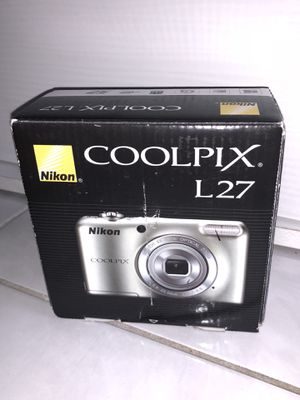 Nikon Coolpix L27 16MP Digital Camera Point and shoot for Sale in Rogers, AR