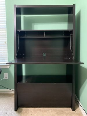 Leaning Ladder Writing Desk with Shelf & Drawer for Sale in Garland, TX