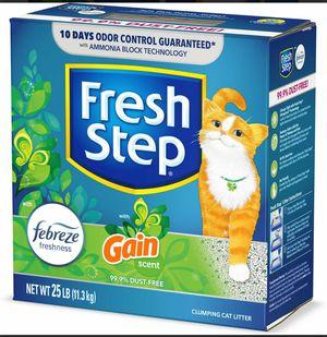 Fresh step cat litter gain scent for Sale in Abilene, TX