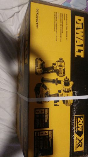 DeWalt 20v impact and drill for Sale in Phoenix, AZ