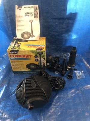 Laguna Powerjet 2900 fountain / waterfall pump kit for Sale in Woodridge, IL