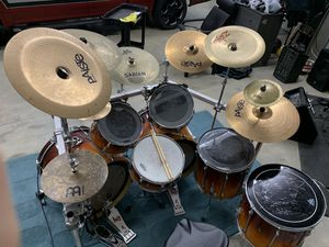 Tama Rockstar 7 piece drum set for Sale in Lauderdale Lakes, FL