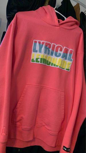 Lyrical lemonade X Jordan Large Hoodie (Worn Once) for Sale in Tinley Park, IL