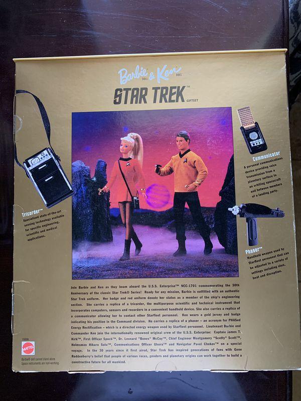 Star Trek Barbie and Ken