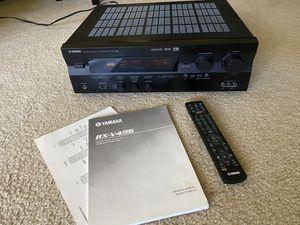 AV Receiver RX-V496 Yamaha 5.1 Channel for Sale in Rockville, MD