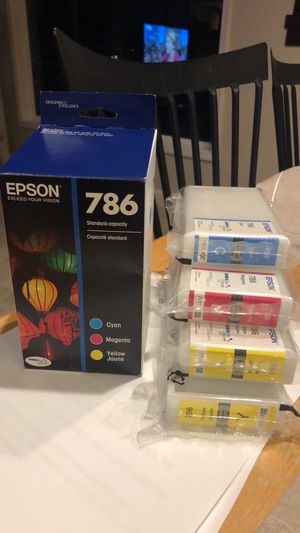 786 EPSON INK CARTRIDGES $10 each for Sale in Kent, WA