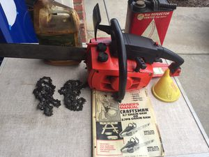 Craftsman Chain Saw for Sale in Fresno, CA