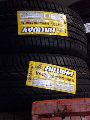 245 45 20 fullway tires for Sale in Santa Ana, CA