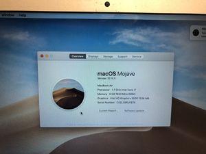 """Macbook air 13"""" i7 8gb ram 256gb ssd 2014 for Sale in Lauderhill, FL"""