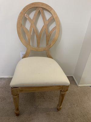 4 solid wood Chairs for Sale in Aspen Hill, MD