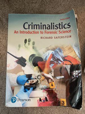 Criminalistics Textbook for Sale in Auburn, WA