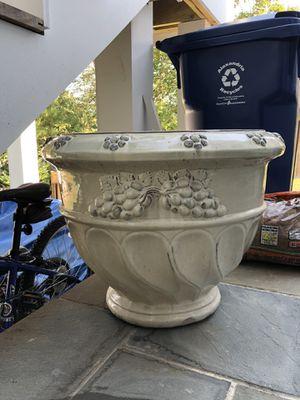 Large Glazed Planter / Flower Pot for Sale in Alexandria, VA