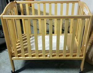 Full size Wood folding crib for Sale in Woodbridge, VA