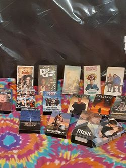 VHS tapes original packaging (vintage) for Sale in Waco,  TX