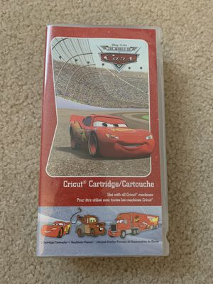 Disney Cars Cricut Cartridge for Sale in Lynnwood, WA