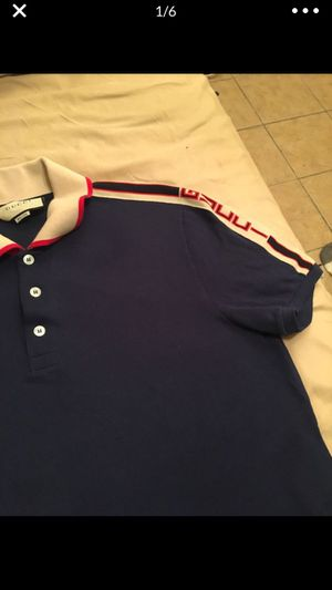 Gucci polo shirt size large Men's for Sale in Dallas, TX