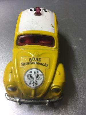 Vintage Volkswagen , Very Rare Corgi Collectible Toy Car. Front axle is loose. Please see description for condition. for Sale in El Paso, TX