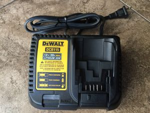 Dewalt 20 Volt battey charger 12 volt to 20 volt charger Dewalt battery charger for Sale in Mesa, AZ